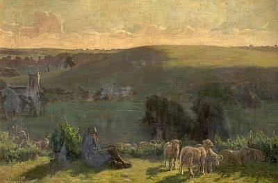 In der Down Country, 1900