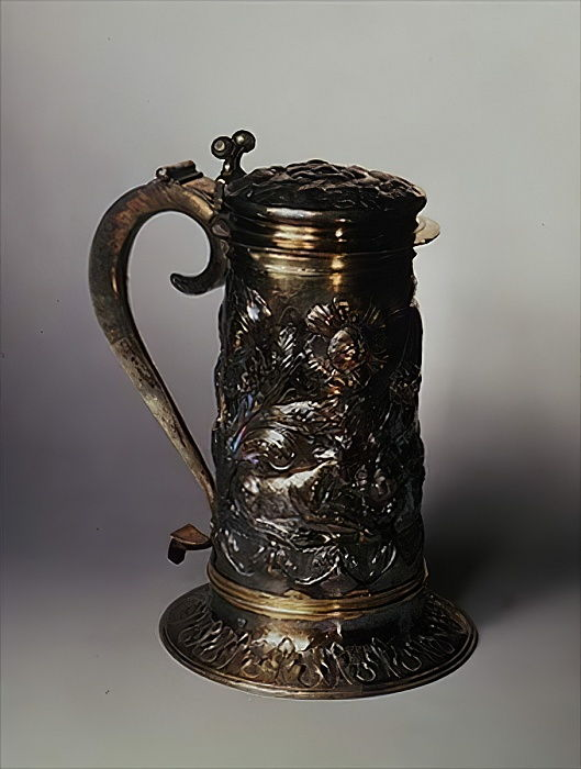 Krug, London, 1663 (Silber) von English School