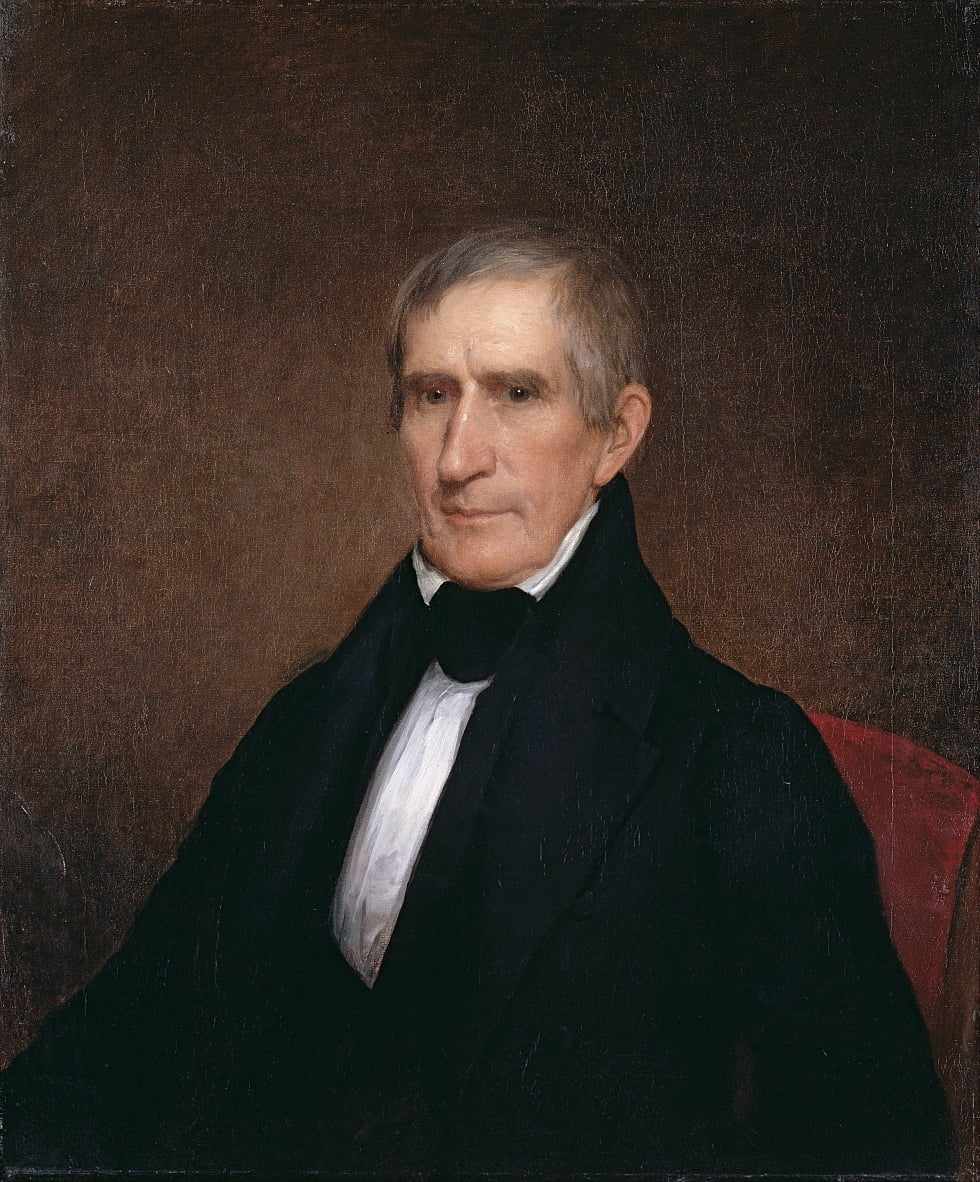 William Henry Harrison von Albert Gallatin Hoit