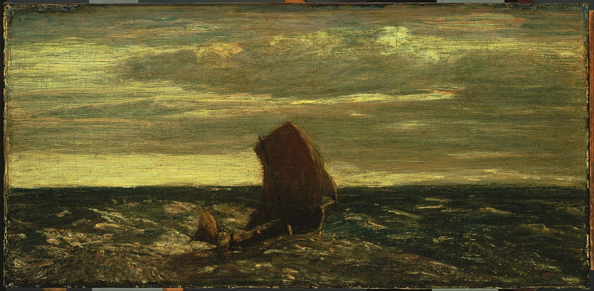 Homeward Bound von Albert Pinkham Ryder