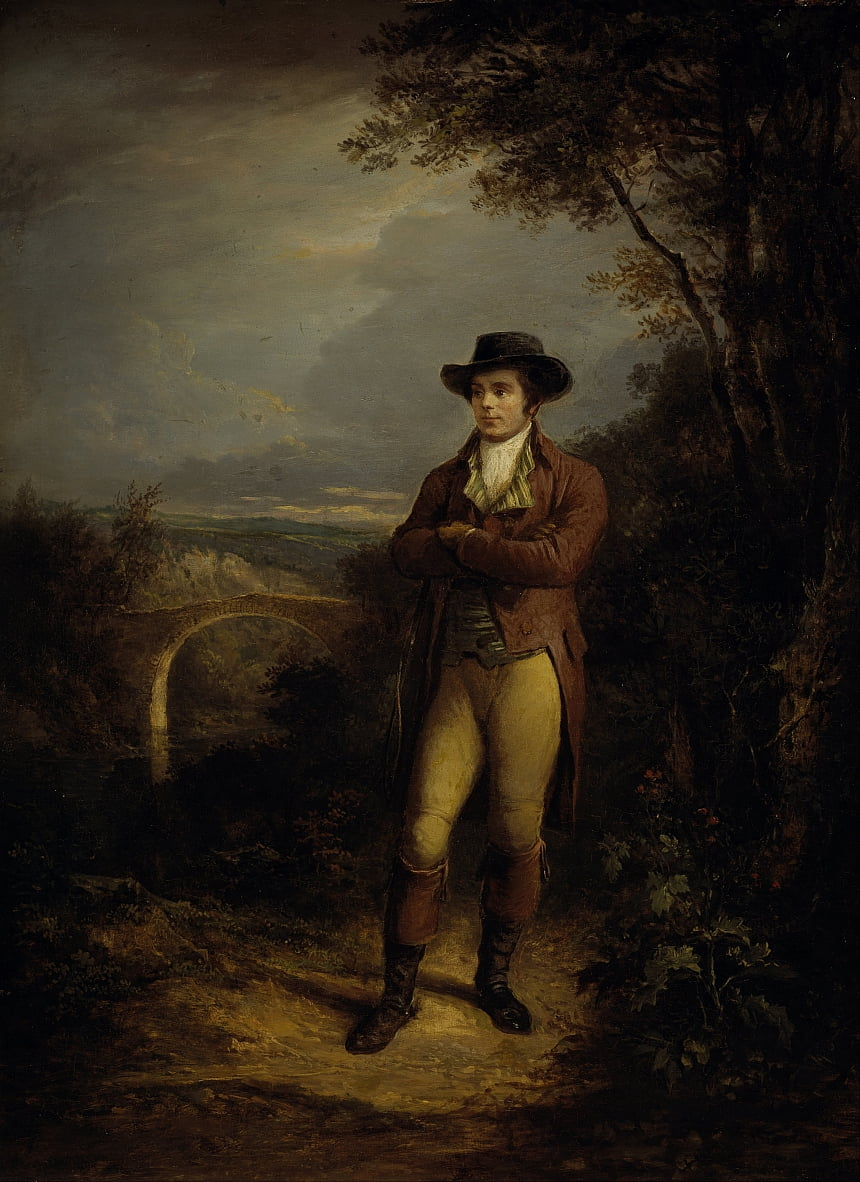 Robert Burns 1759 von Alexander Nasmyth