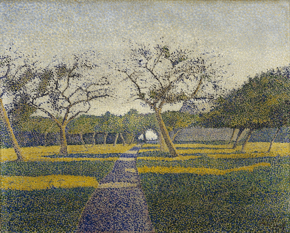 Obstgarten in La Louvière von Alfred William Finch