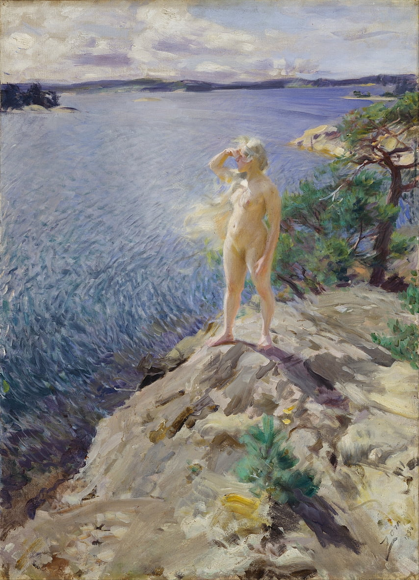 In den Skerries von Anders Leonard Zorn