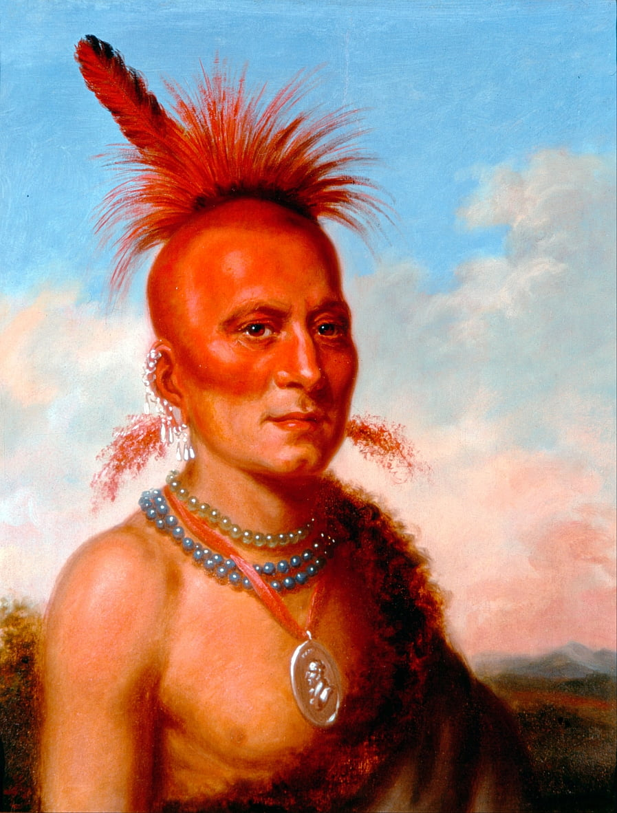 Sharitarish (Wicked Chief), Pawnee von Charles Bird King