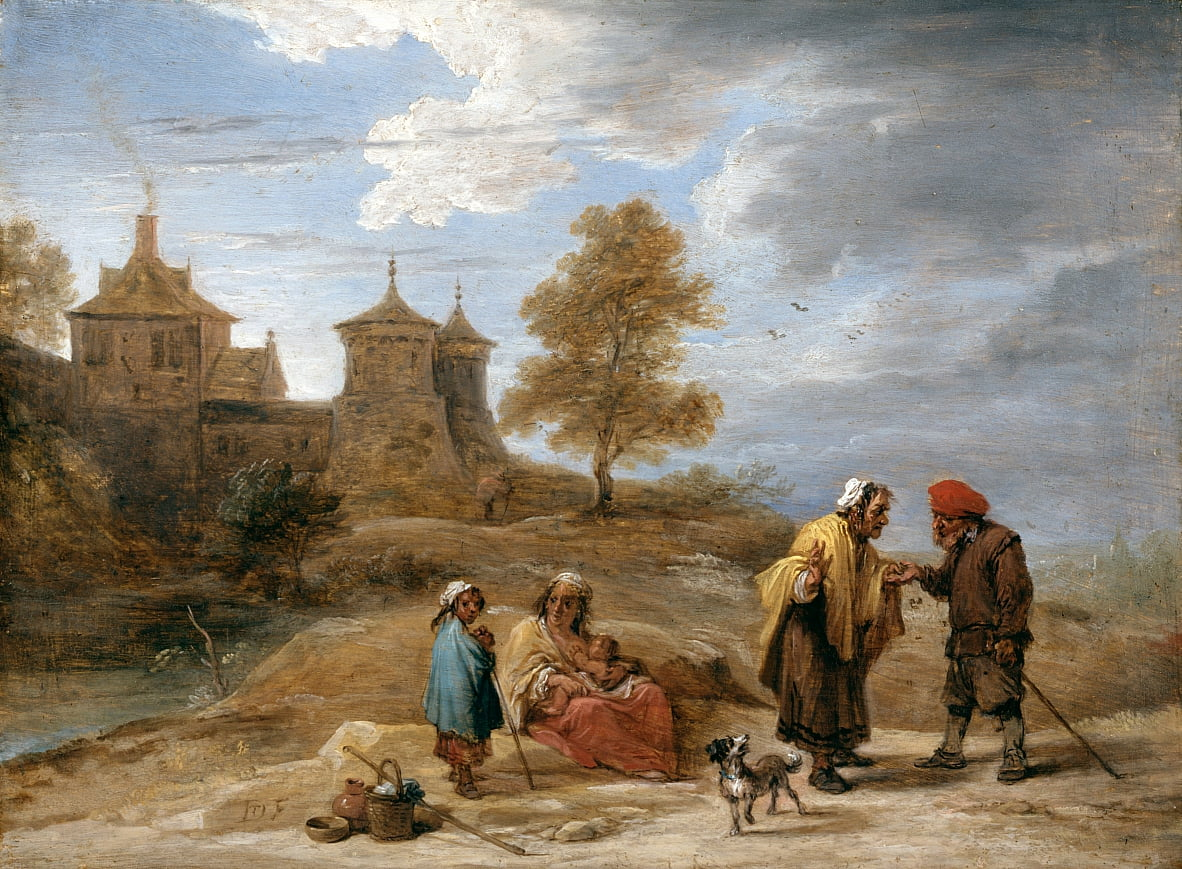 Zigeuner in einer Landschaft von David Teniers the Younger