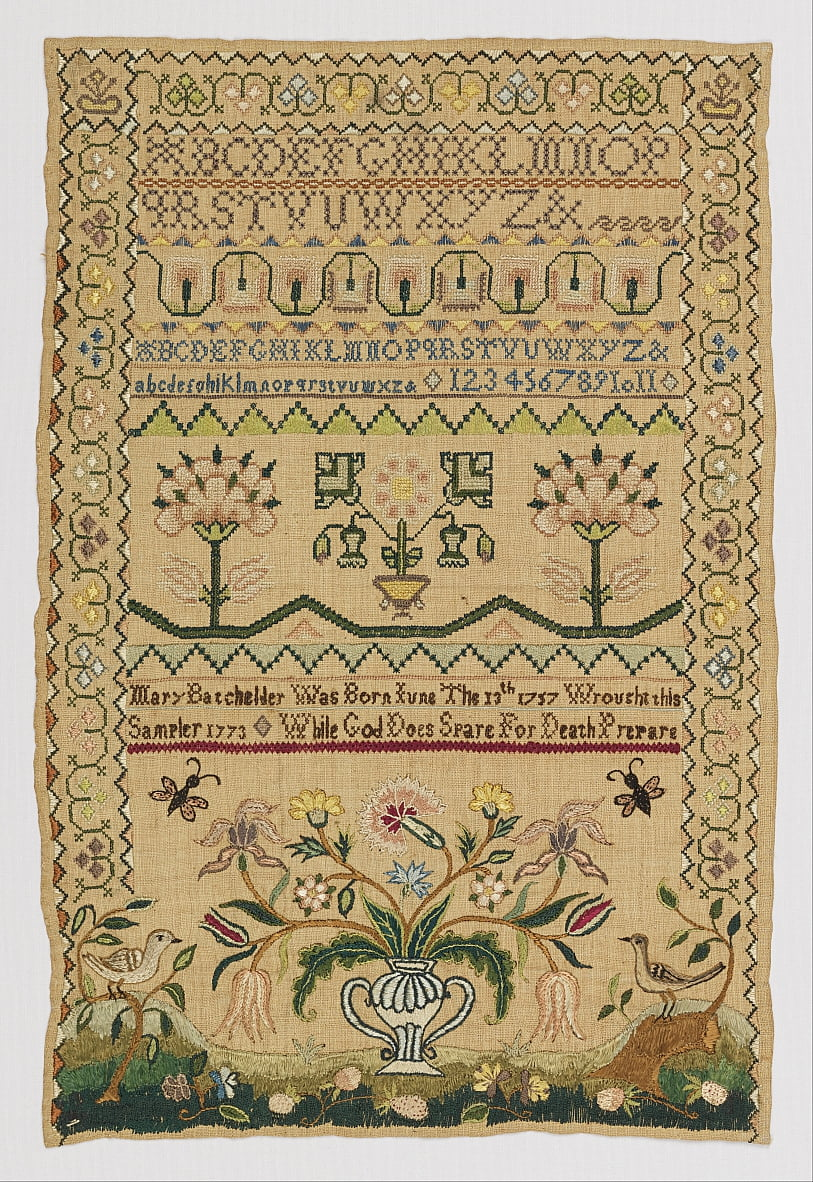 Sampler von Mary Batchelder