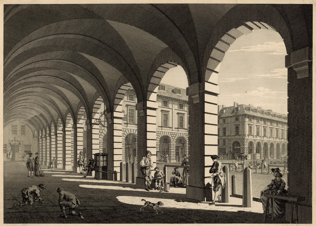 Covent Garden, London von Paul Sandby
