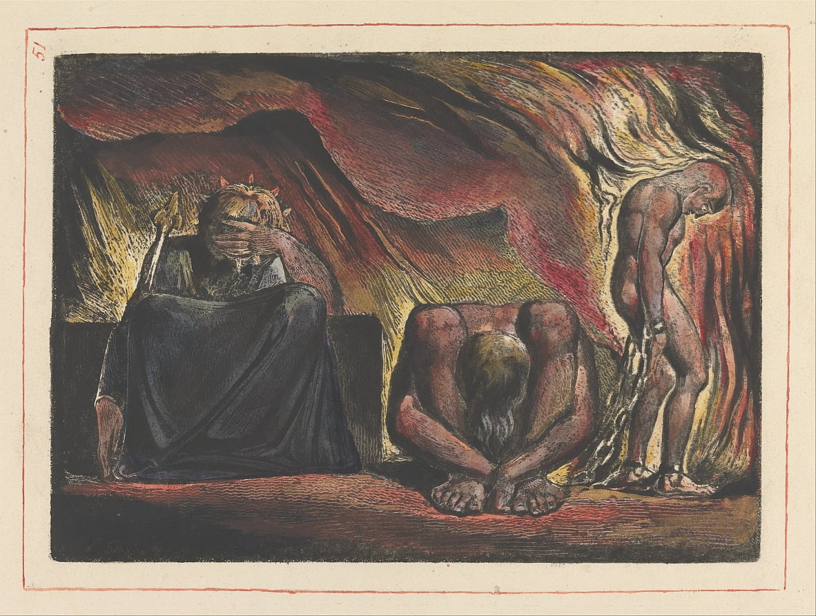 Jerusalem, Tafel 51 von William Blake